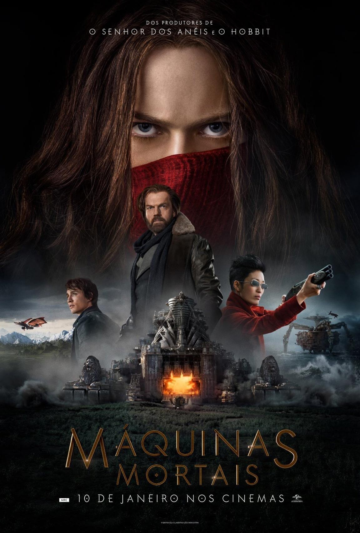 Mortal Engines Poster #3