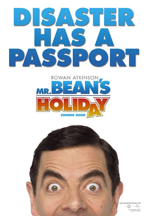 Mr. Bean's Holiday Poster #1