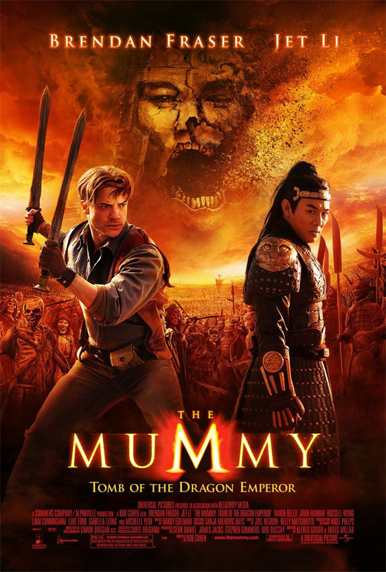 The Mummy: Tomb of the Dragon Emperor Poster #7