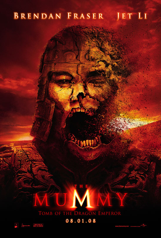 The Mummy: Tomb of the Dragon Emperor Poster #1