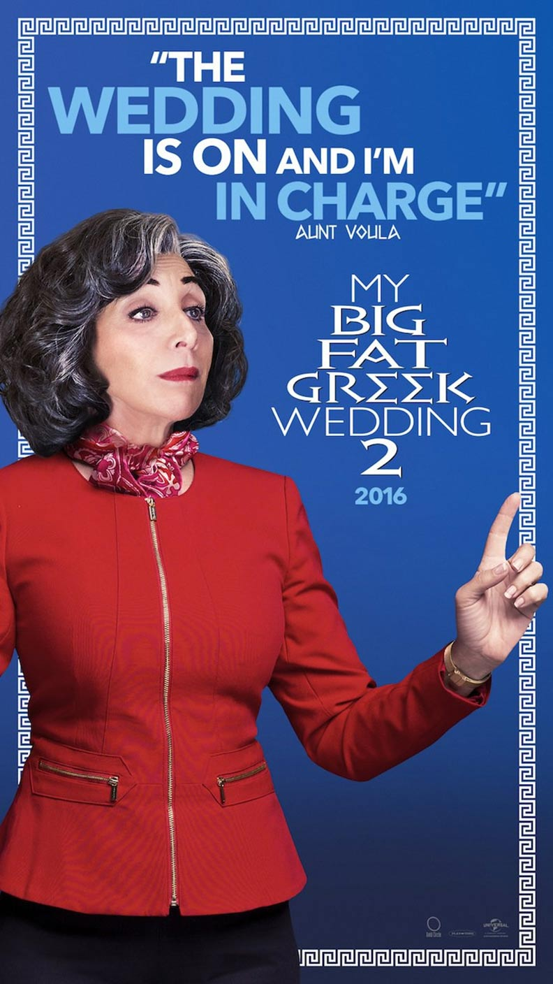 My Big Fat Greek Wedding 2 Poster #2
