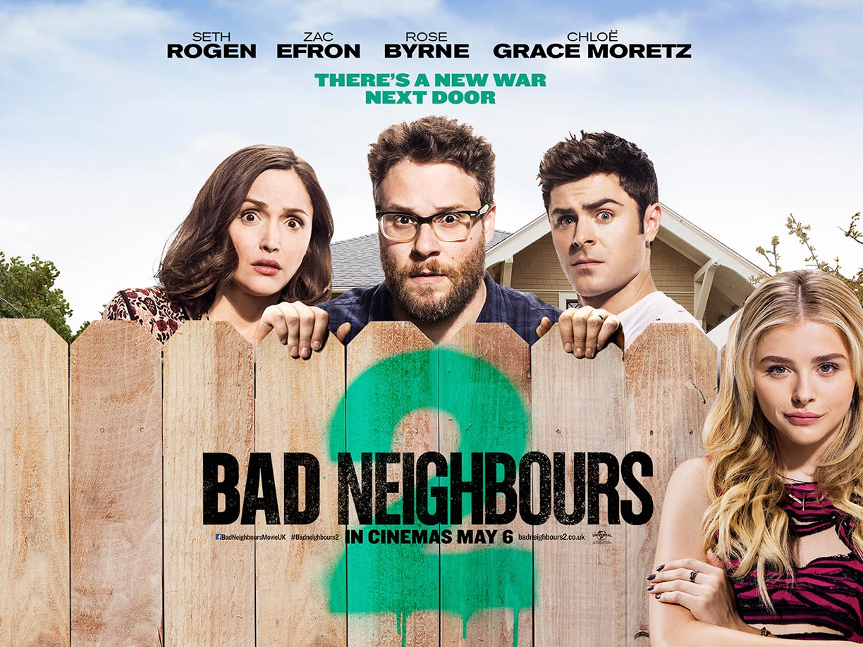Neighbors 2: Sorority Rising Poster #2