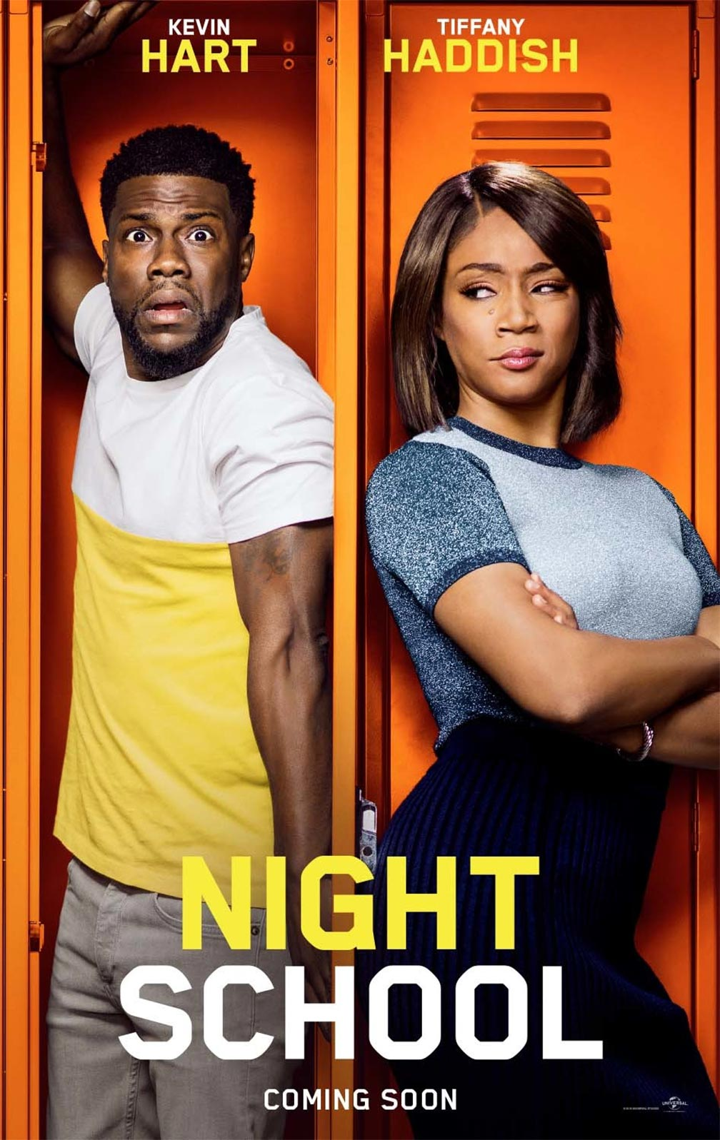Night School Poster #1