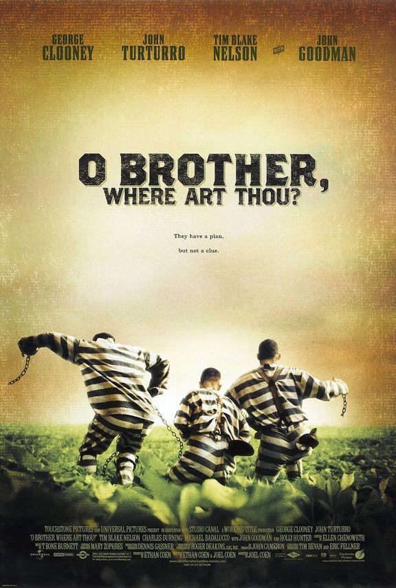 O Brother, Where Art Thou? Poster #1