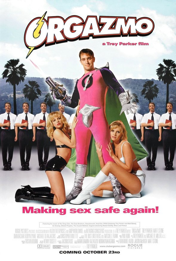 Orgazmo Poster #1