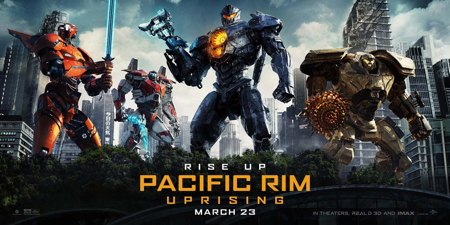 Pacific Rim Uprising (2018) Poster #13 - Trailer Addict Pacific Rim