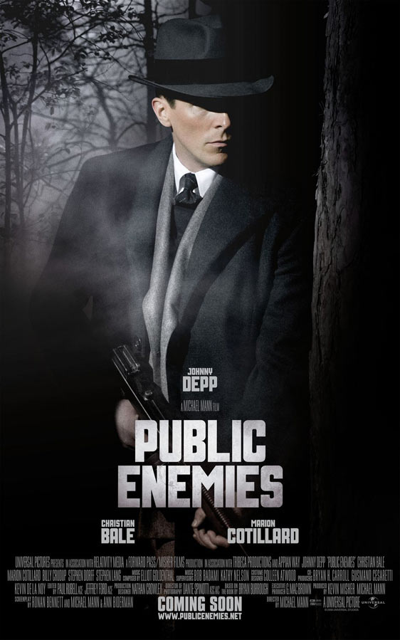 Public Enemies Poster #2