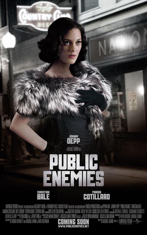 Public Enemies Poster #3