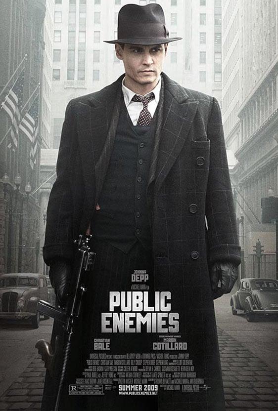 Public Enemies Poster #1