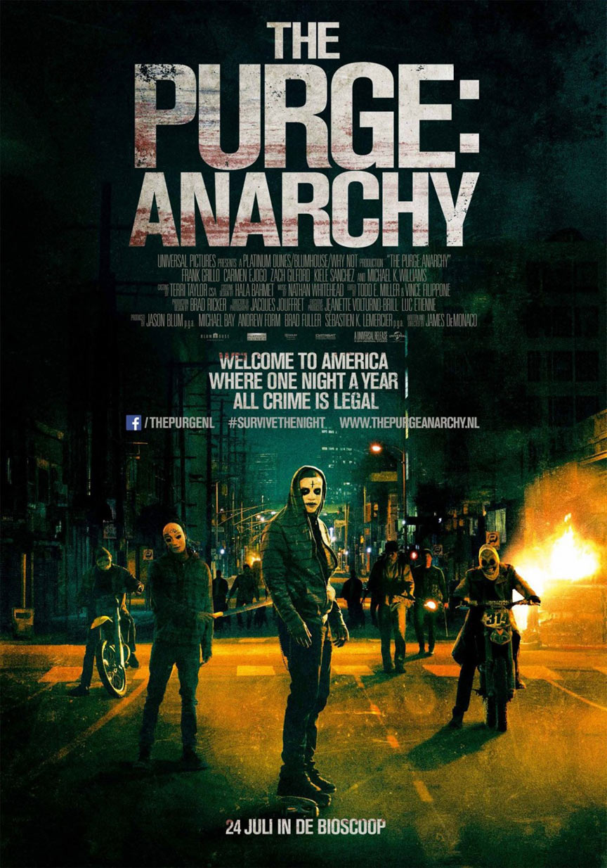 The Purge: Anarchy Poster #2