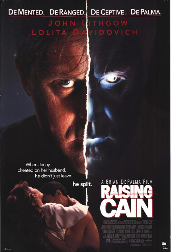 Raising Cain Poster #1