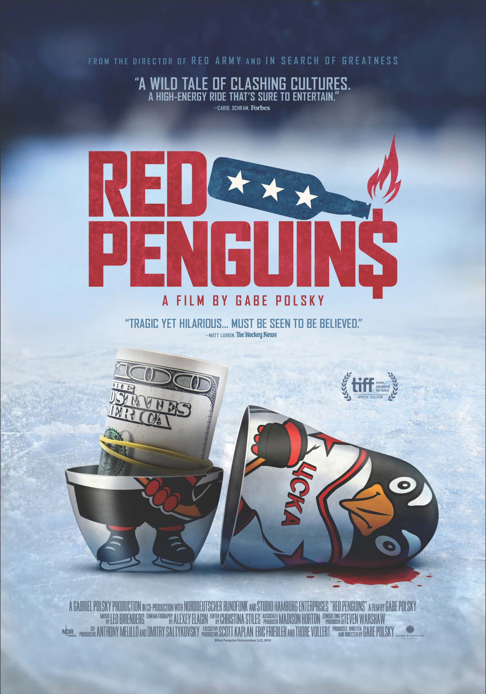 Red Penguins Poster #1