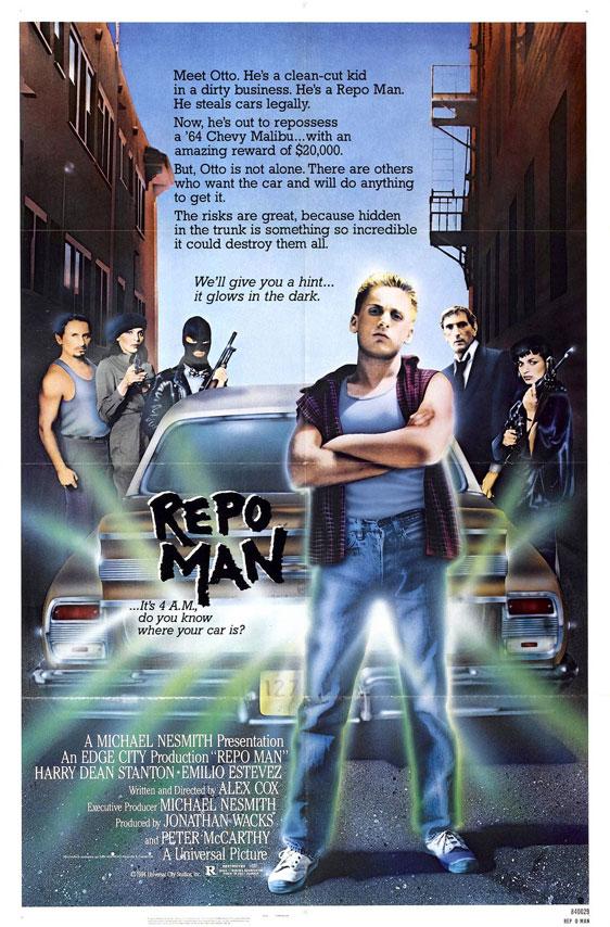 Repo Man Poster #1