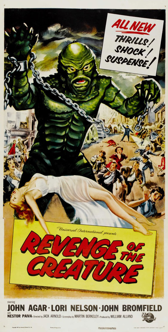 Revenge of the Creature Poster #2