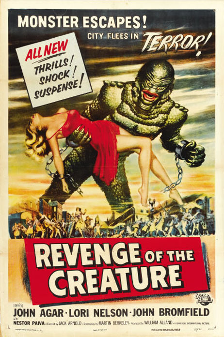Revenge of the Creature Poster #1