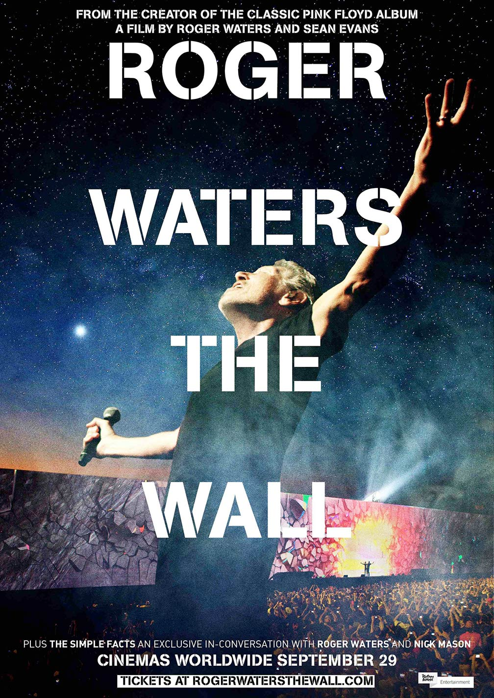 Roger Waters The Wall Poster #2