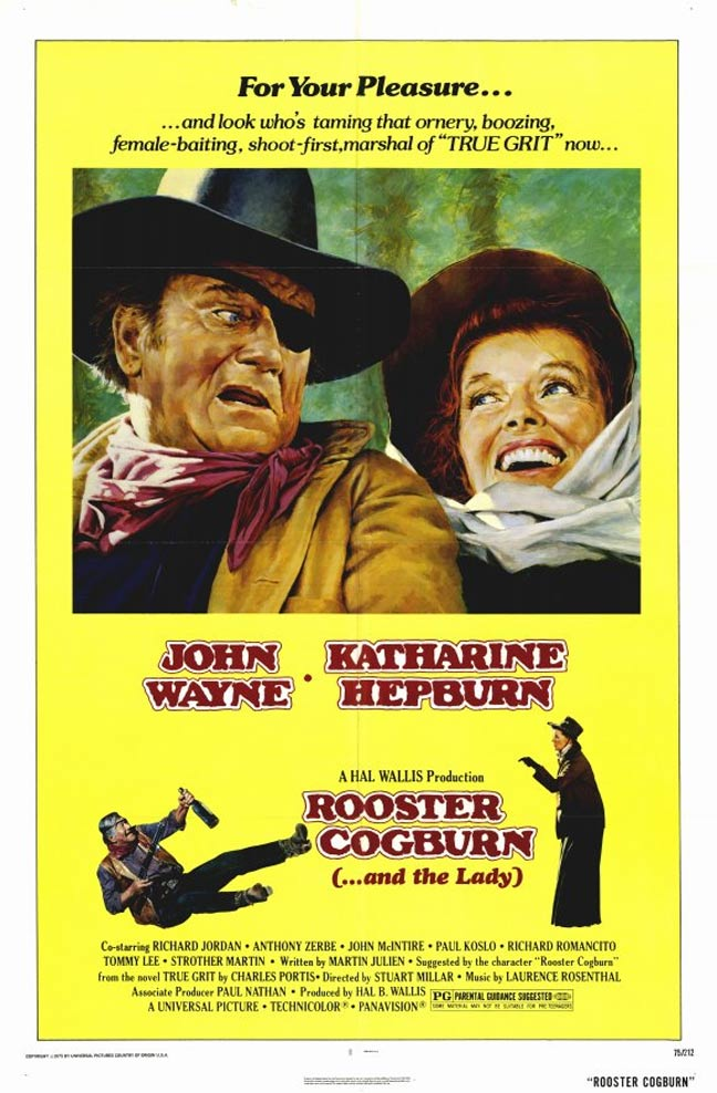 Rooster Cogburn Poster #1