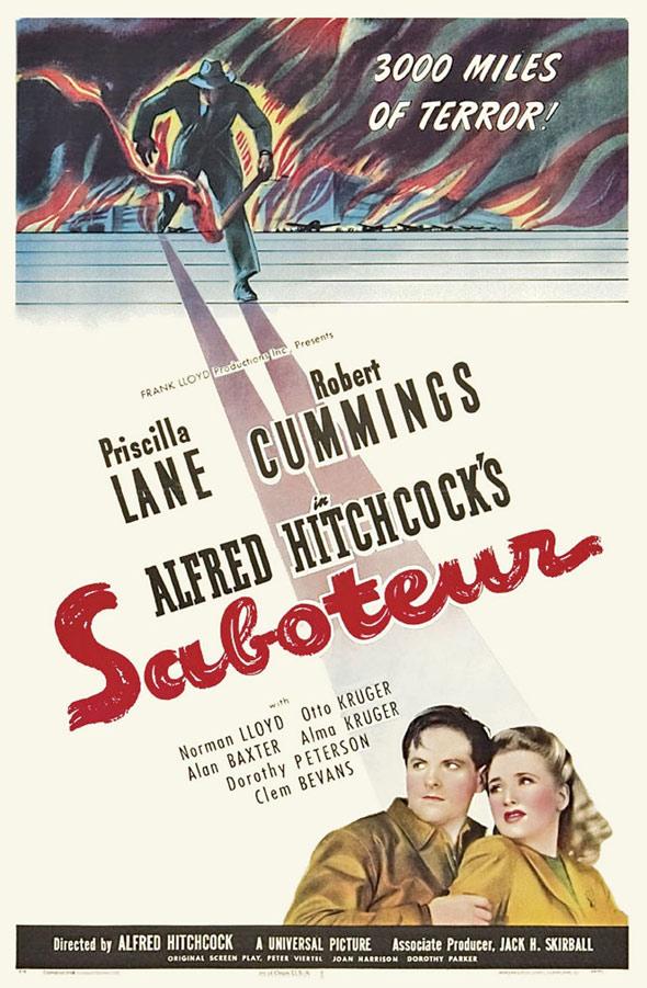 Saboteur Poster #1