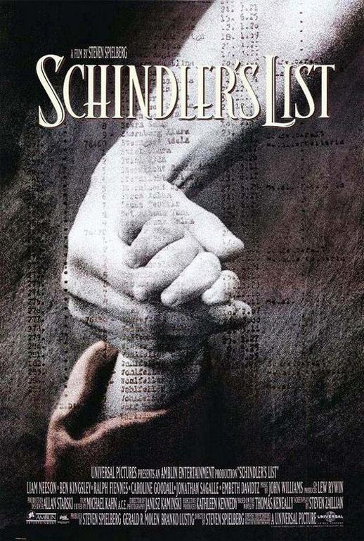 Schindler's List Poster #1