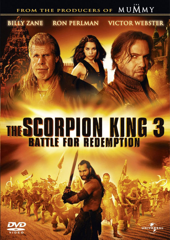 The Scorpion King 3: Battle for Redemption Poster #1