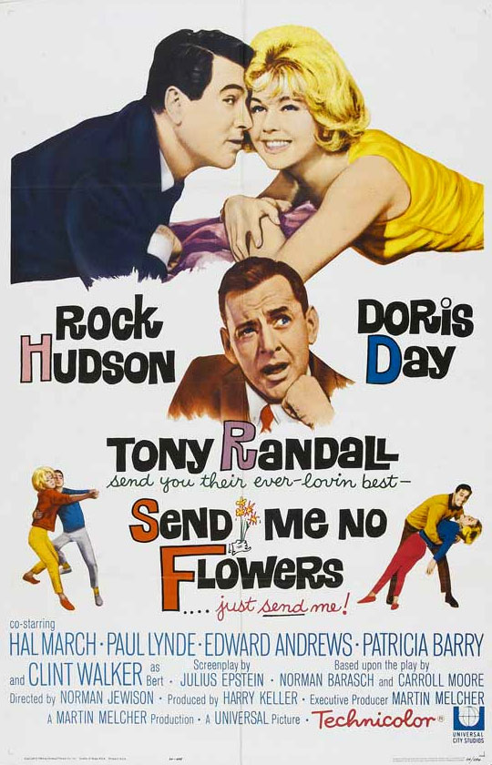 Send Me No Flowers Poster #1