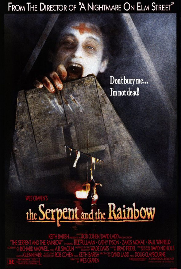 The Serpent and the Rainbow Poster #1