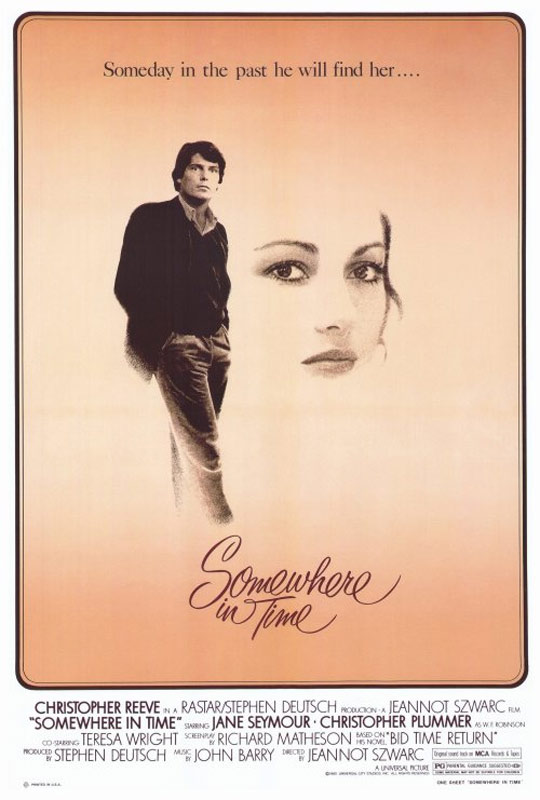 Somewhere in Time Poster #1