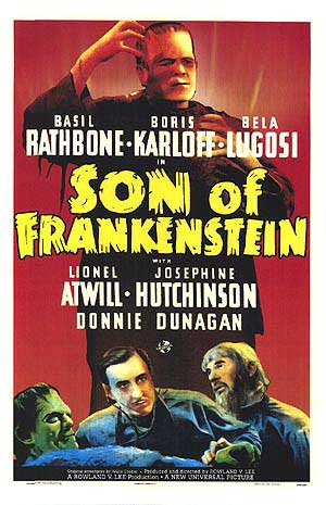 Son of Frankenstein Poster #2