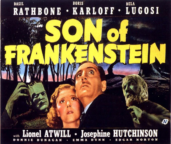 Son of Frankenstein Poster #3