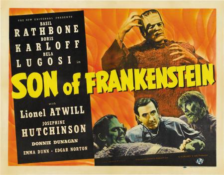 Son of Frankenstein Poster #4