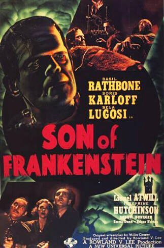 Son of Frankenstein Poster #1
