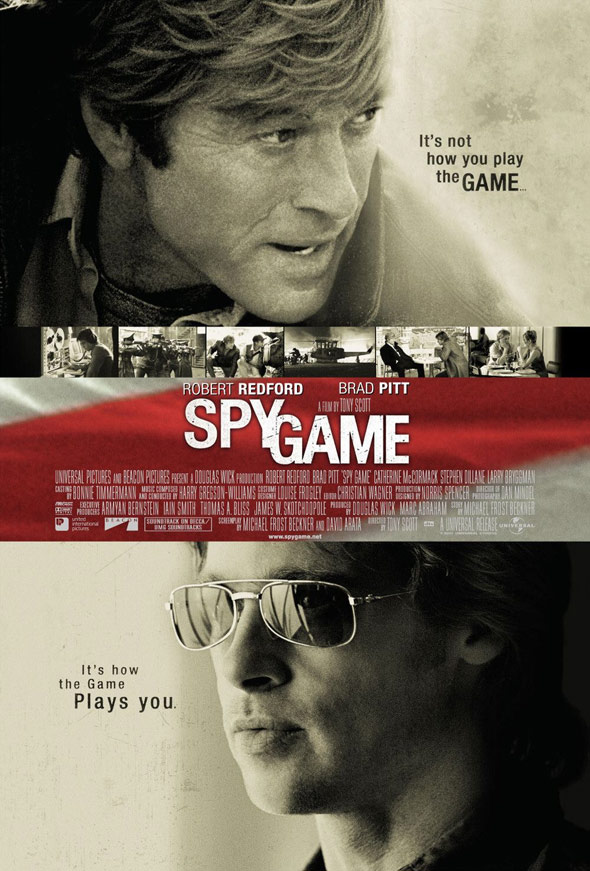 Spy Game Poster #1