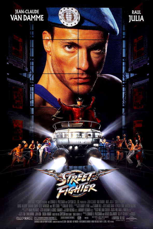 Street Fighter Poster #1