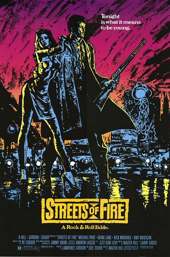 Streets of Fire Poster #1