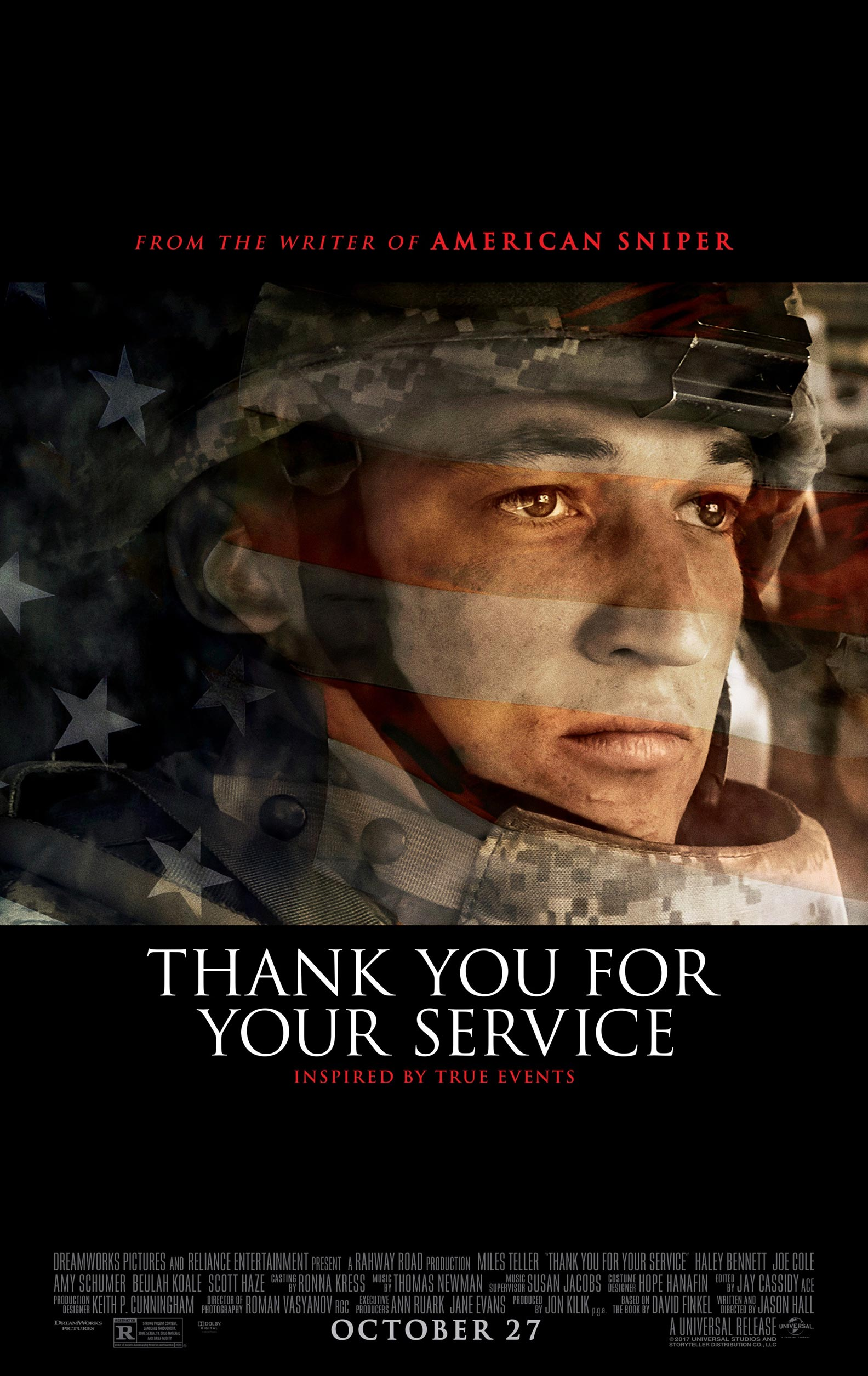 Thank You for Your Service Poster #1