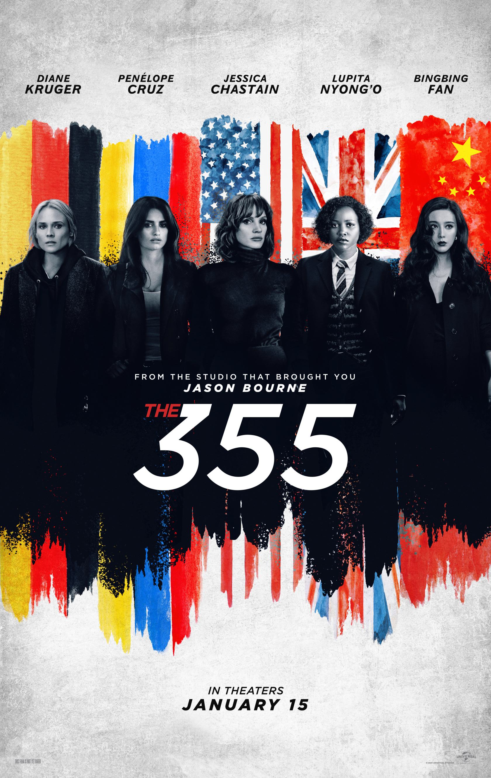 The 355 Poster #1