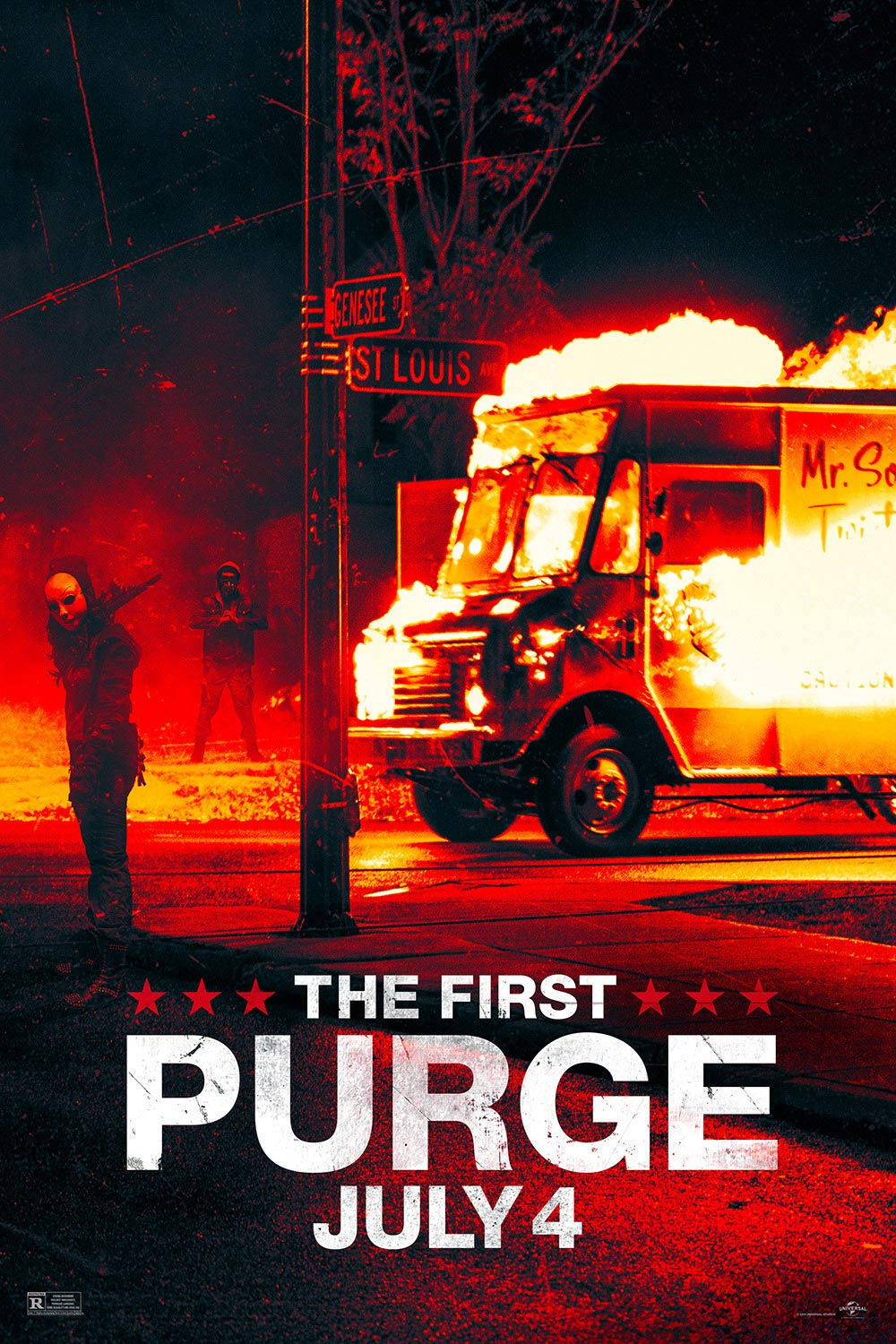 The Original Rider Waite Deck By Arthur Edward Waite: The First Purge (2018) Poster #3