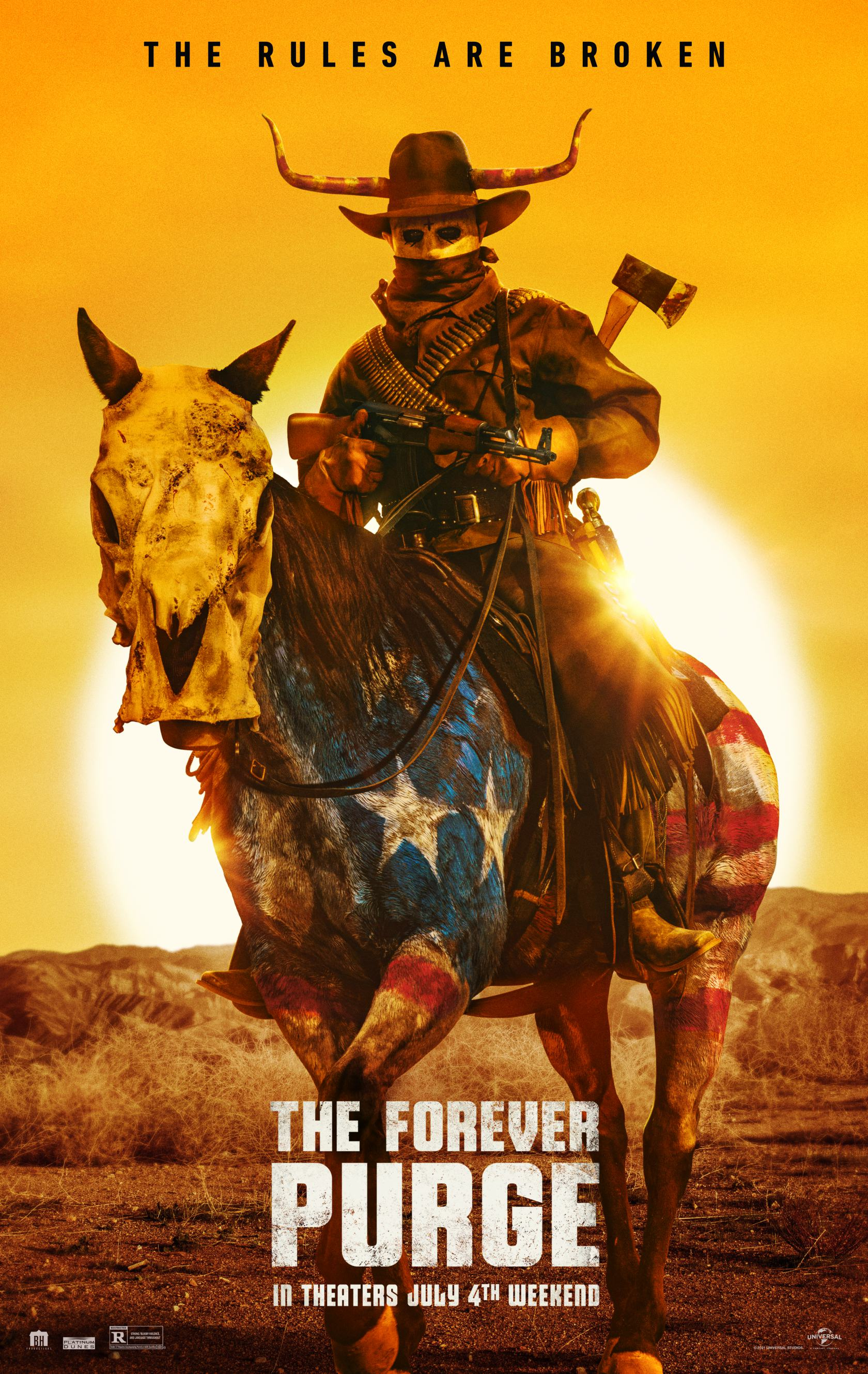 The Forever Purge Poster #1