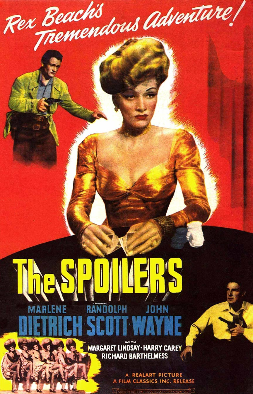 The Spoilers Poster #1