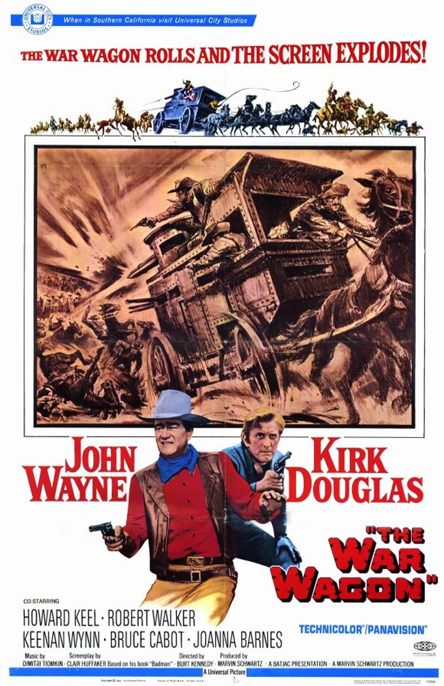 The War Wagon Poster #1