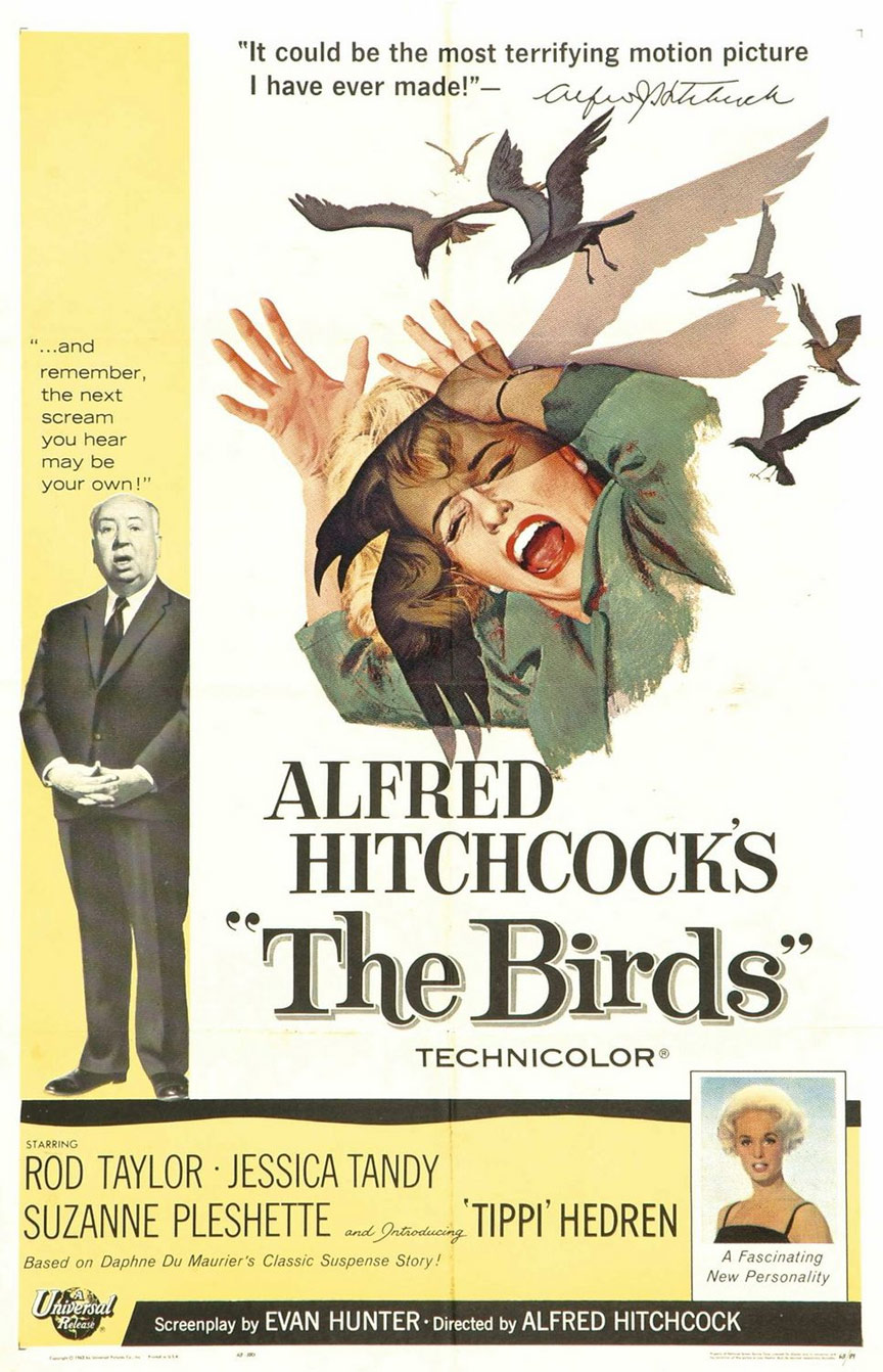 The Birds Poster #1