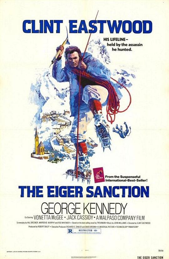 The Eiger Sanction Poster #1