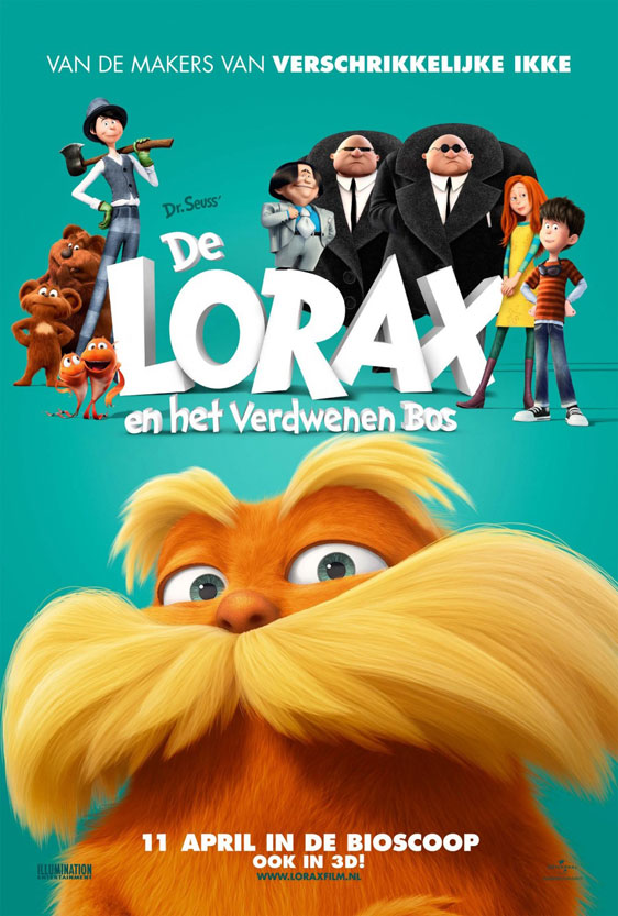 Dr. Seuss' The Lorax Poster #3