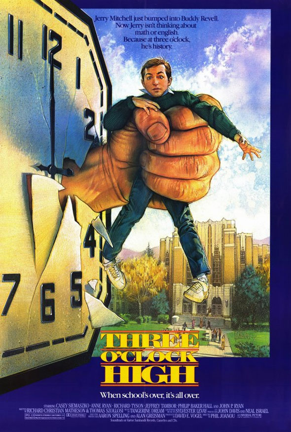 Three O'Clock High Poster #1