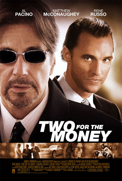 Two for the Money Poster #1