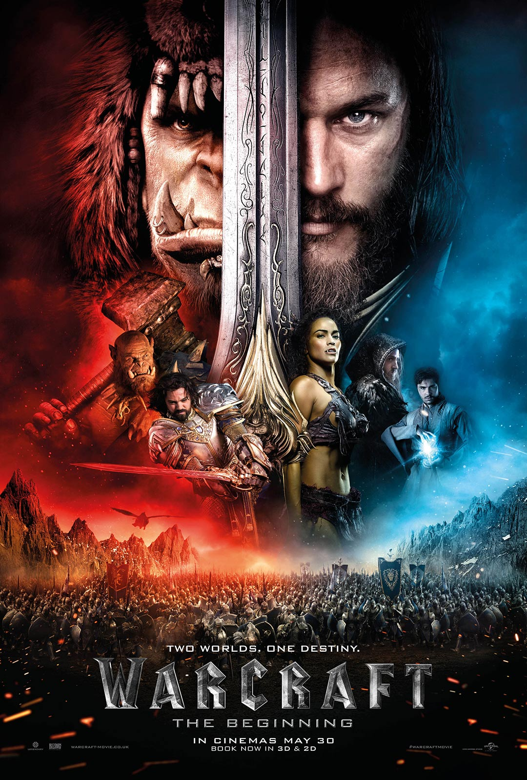 Warcraft: The Beginning Poster #8