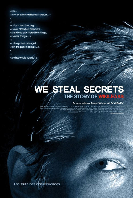 We Steal Secrets: The Story of WikiLeaks Poster #1