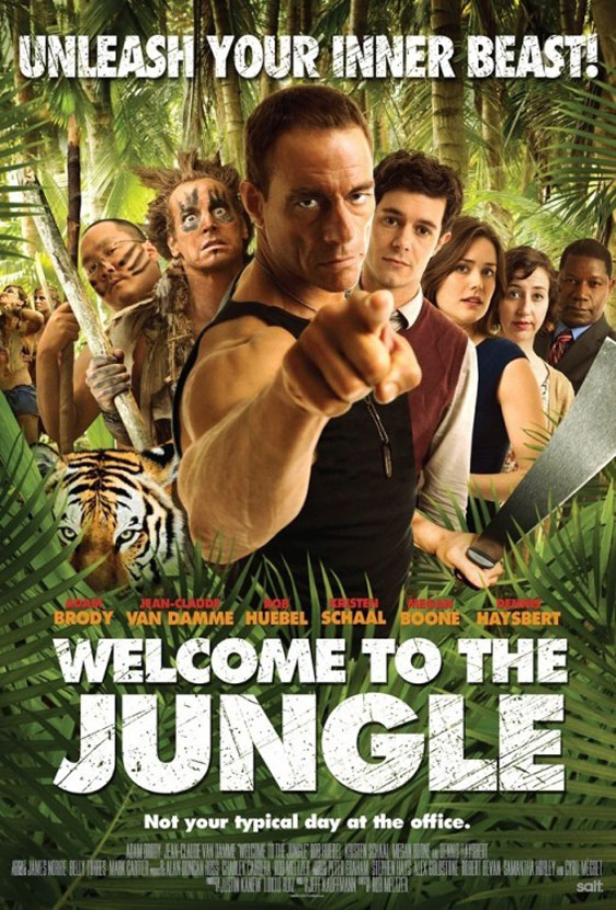 Welcome to the Jungle Poster #1