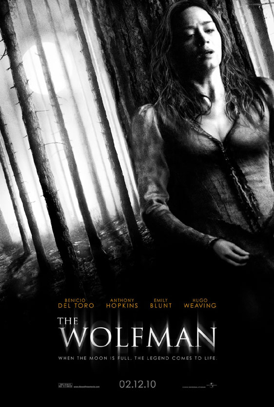 The Wolfman Poster #2