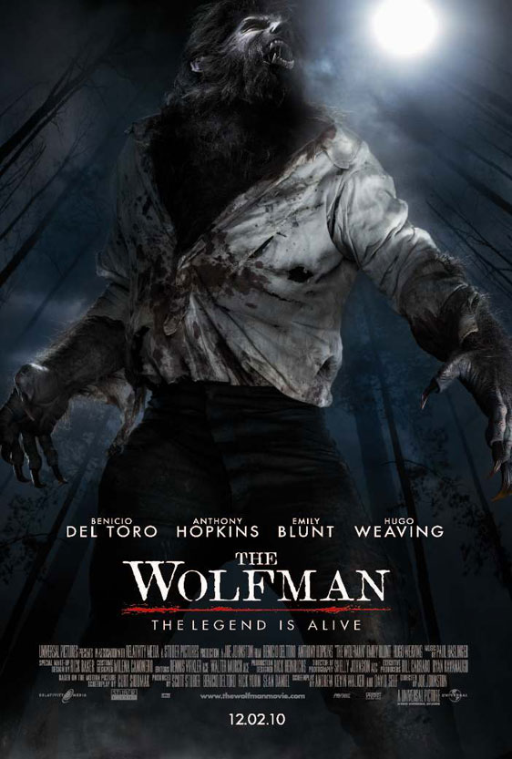 The Wolfman Poster #4